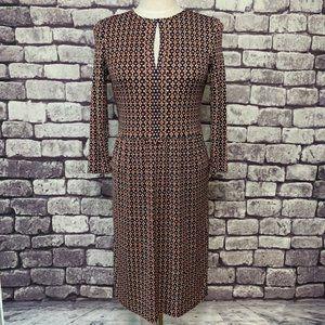 🎉Host Pic🎉Tory Burch Silk L-Sleeve Dress Size SP